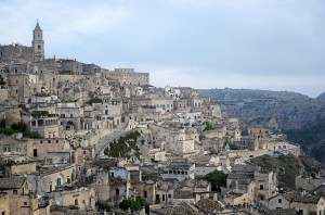 Panorama di Matera (Basilicata)